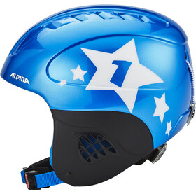 Alpina Carat Ski Helmet Kids blue-star